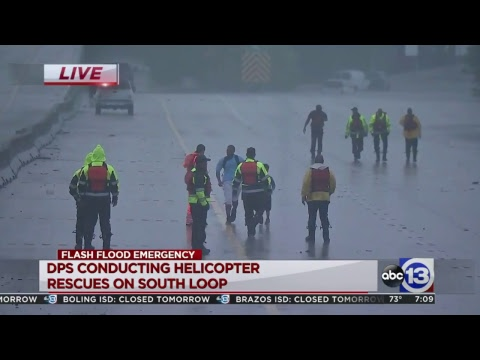 Hurricane Harvey Live Coverage - 'Unprecedented' flooding in Houston as Harvey stalls over area