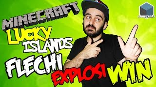 FLECHI EXPLOSI WIN | LUCKY ISLANDS | CON CRYSTALSIMS CUBECRAFT MINECRAFT GAMEPLAY