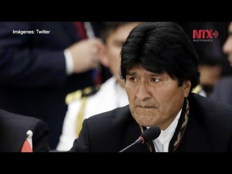 Crisis en Bolivia divide opiniones