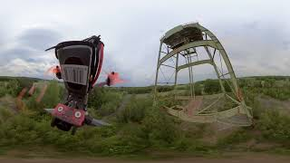 Some Insta360 One R FPV Freestyle footage (+Crash) фото
