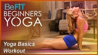 Yoga Basics Workout | Level 1: BeFiT Beginners Yoga- Kino MacGregor by BeFiT