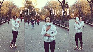 ВЛОГ: Сладкий ноябрь, Нью-Йорк свежими глазами. Ольга Рохас   Нью-Йорк