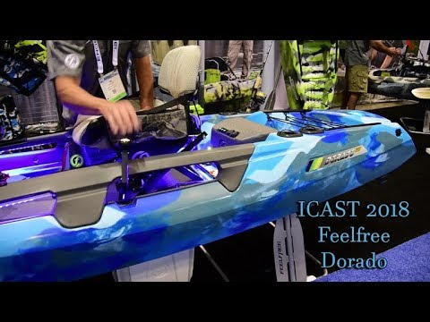 Feelfree's Dorado Pedal Kayak (ACK at ICAST 2018)