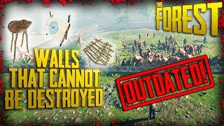 INVULNERABLE WALLS! - Walls that CANNOT be destroyed (v0.70)  | The Forest