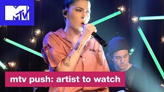 Bishop Briggs Performs 'Never Tear Us Apart' (INXS Cover) | MTV Push: Artist to Watch