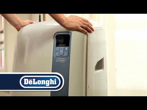 Wasser-Luft-Technologie   De'Longhi mobile Klimaanlagen