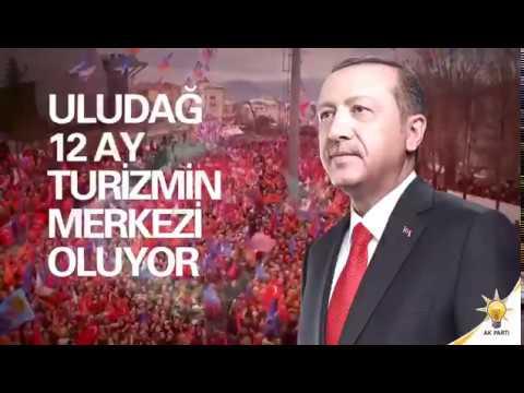 Uludağ Alan Yönetim Başkanlığı kurularak 4 mevsimde Uludağ Turizmi canlanacak.