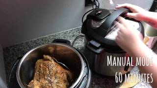 Cooking A 10lb Brisket In The Instant Pot(s) With Michael & Shari