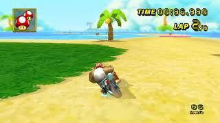 【MKW WR】GBA Shy Guy Beach - 1:21.572 - Liam
