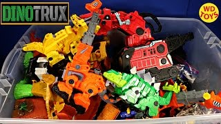 New Giant Box Dinotrux Surprise Toys Dreamworks Dinosaur Trucks Unboxing Top 10