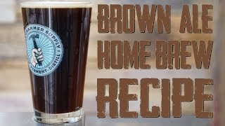 Home Brewing: All Grain Brown Ale Beer Recipe