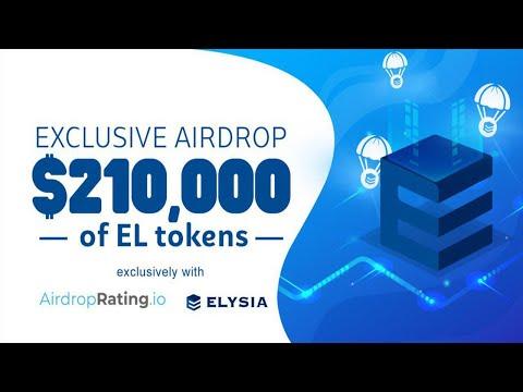 Ganhe U$5 Dólares no Airdrop ELYSIA . Mais fácil impossível !