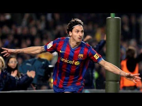 Zlatan Ibrahimovic-All Goals-Fc Barcelona-2009/10-HD