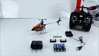 SYMA F3 2.4 GHZ 4CH Single Rotor RC Helikopter vergl. m. V911 MJX F647 Produkttest Review