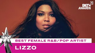 Lizzo Wins Best Female R&B/Pop Artist Award!   BET Awards 20