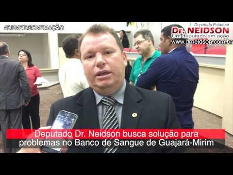 VÍDEO: DR. NEIDSON BUSCA SOLUÇÃO PARA PROBLEMAS NO BANCO DE SANGUE DE GUAJARÁ-MIRIM