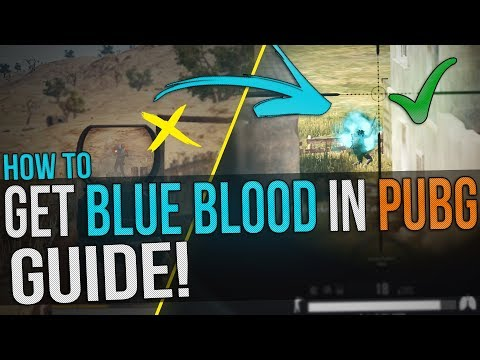 Any blood color :: PLAYERUNKNOWN'S BATTLEGROUNDS General