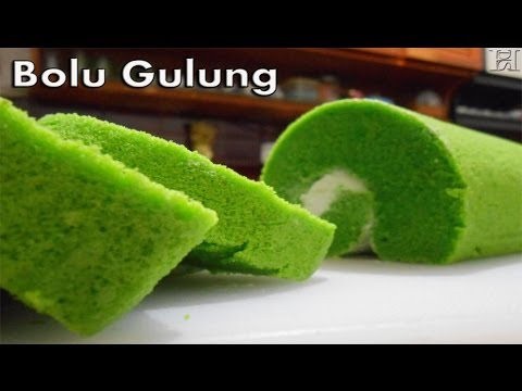 Video Bolu Gulung - Resep Bolu Gulung (Roll Cake Recipe)
