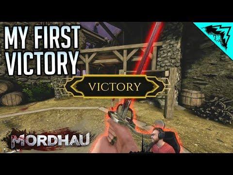 MY FIRST VICTORY!! - Mordhau (Battle Royale)