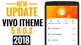 iTheme UPDATE : No Chinese 😍 For VIVO Smartphone - hmong video