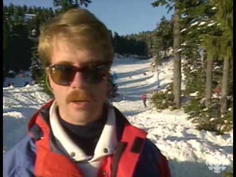 Skiers vs Snowboarders 1985