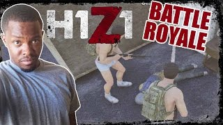 H1Z1 Battle Royale Gameplay - OPENED THE WRONG DOOR! | H1Z1 PC Gameplay