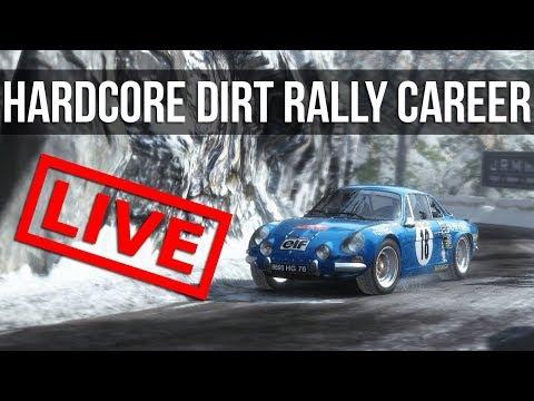 Dirt Rally - LIVE Hardcore Career Mode: 60's Championship