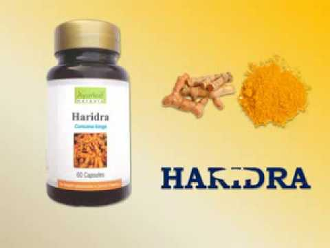 Herbal Skin Care Capsules Haridra - Turmeric