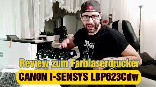 CANON i-SENSYS LBP623Cdw  [Review] [Deutsch]