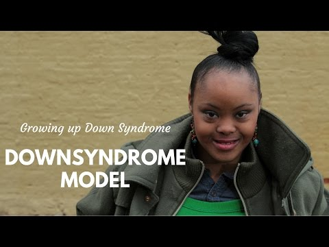 Watch video Down Syndrome Model: Gigi Cunningham