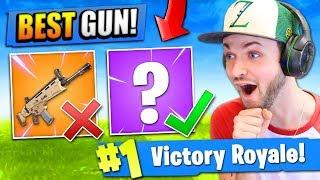 The *REAL* BEST GUN in Fortnite: Battle Royale!