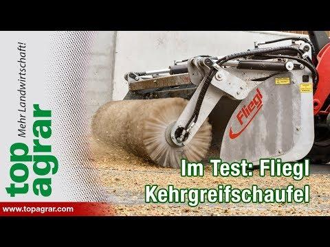 Kehrbesen mit Griff: Fliegl Kehrgreifschaufel im Test