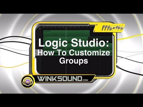 Logic Pro: How To Customize Groups   WinkSound