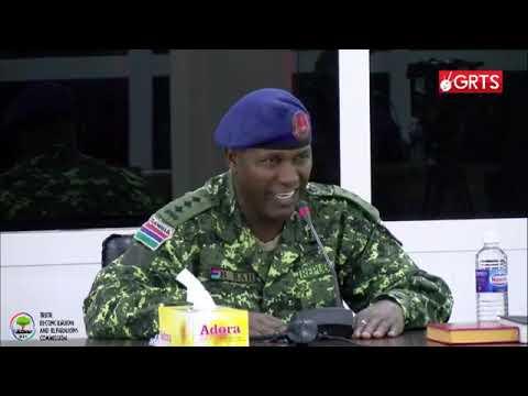 TRRC Sitting Day 17 Part 2 Capt Bah Testifies (видео)