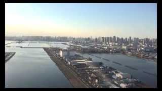 東京空撮4K映像12月23日《文京映像制作》R444人乗りヘリコプター
