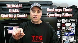Dicks Sporting Goods Destroys Their Rifles - TheFireArmGuy