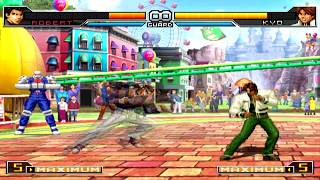 King of Fighters 2002 Unlimited Match All Desperation Moves