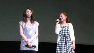 映画『ガール』香里奈&西野カナ名古屋キャンペーン