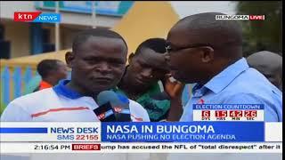Bungoma residents' expectations ahead of NASA rally