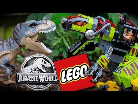 LEGO Jurassic World 2019 | T.Rex Vs Dino-Mech Battle | 75938 | Review