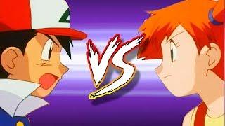 Misty  - (Pokémon) - Ash Kanto Vs Misty (Kanto Battle) Pokemon Sun and Moon Batalha épica
