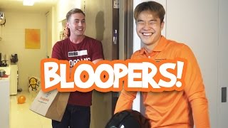 Bloopers: How People React To Food Deliveries
