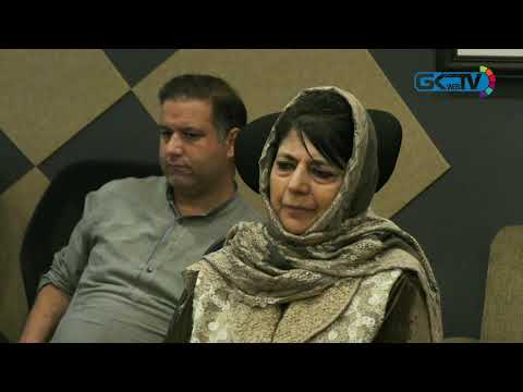 Mehbooba Mufti appeals Centre, militants for Ramadhan ceasefire