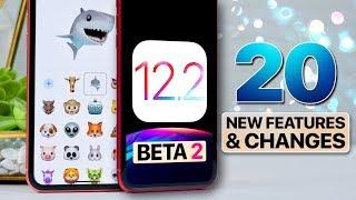 iOS 12.2 Beta 2! New Animojis, Animations & More