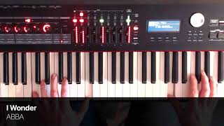 I Wonder - ABBA - Piano Cover