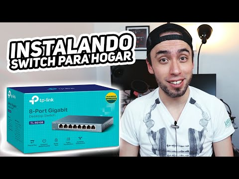 UNBOXING e INSTALACIÓN: Switch TP Link TL SG108 // Instalando red casera