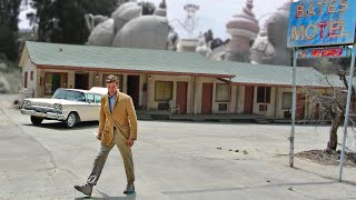 Bates Motel - Norman Bates Attacks// Murder At Universal Studios Hollywood - Tram Tour.