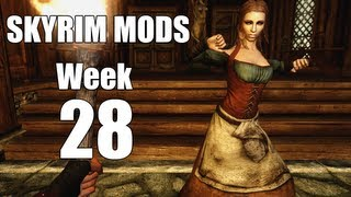 Skyrim Mods - Week #28 - Build Your Own House, Music and Dancing, Monster Mod