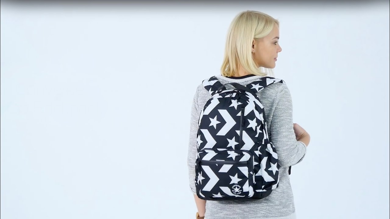 Рюкзак Converse Go Backpack (Multicolour) 10006931-A04 video preview