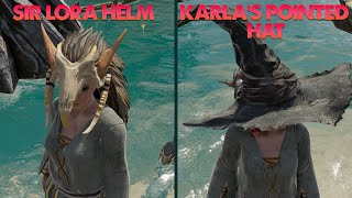 Sir Lora Helm and Karla's Pointed Hat